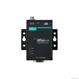 MOXA摩莎NPort 5130A-T串口设备联网服务器1口RS-422/485宽温