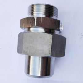 GLTLT高压全系列不锈钢焊接式端直通接头JB966-77-30#