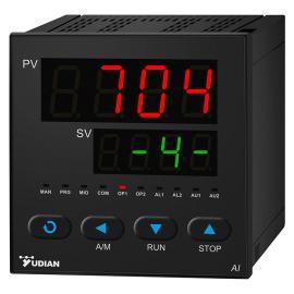 宇电AI-704M四路测量显示报警仪测温度压力流量液位支持485通讯报警变送