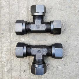 GLTLT高品质全系列高压焊接式三通碳钢液压接头JB972-16#