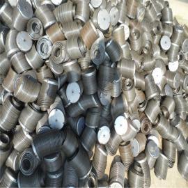 家具厂专用异型耐高温除尘骨架镀锌喷塑有机硅除尘笼骨1
