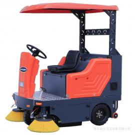 捷恩GEXEEN品牌 工厂车间地面粉尘灰尘扫地车 电瓶电动工业厂房路面清扫车