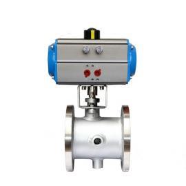 气动保温球阀BQ641F