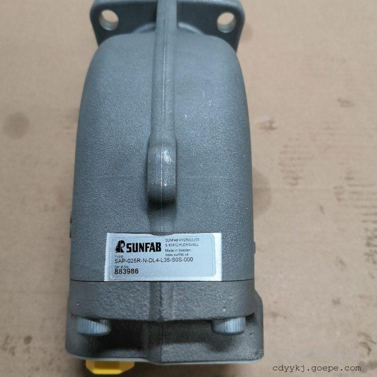 SUNFAB 胜凡柱塞泵机床常用产品现货原装SAP-025R-N-DL4-L35-SOS-000