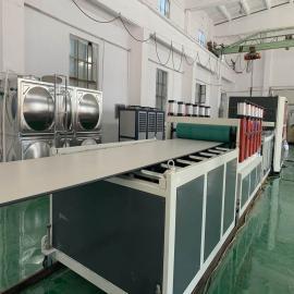 艾斯曼机械塑料中空建筑模板生产线设备SJZ120/35