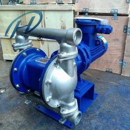 希伦防爆电动隔膜泵 不锈钢 耐腐蚀 DBY-40PB
