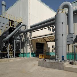 万纯HL喷涂喷漆废气处理设备 VOCs废气净化设备 沸石转轮+催化燃烧炉