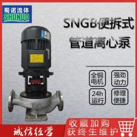 SNLHB新型便拆式立式化工泵