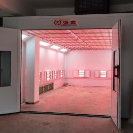 强鑫非标喷烤房 汽车维修厂小型车辆烤房QX500