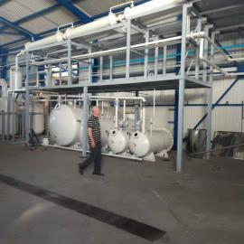 YJ-TY车船用润滑油油再生基础油环保减压蒸馏全套设备5T/D