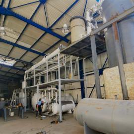 YJ-TY还原基础油装置黑色废机油炼油系统10T/D