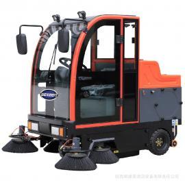 捷恩品牌 全封闭电动扫地车 电瓶驾驶式扫地机 小区学校公园区工厂清扫车 GS/E190