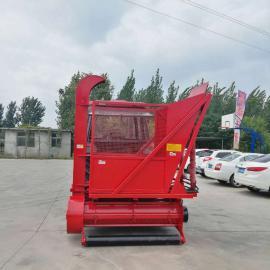 圣泰一米秸秆粉碎回收机图片 拖拉机带收草机视频 ST-1000