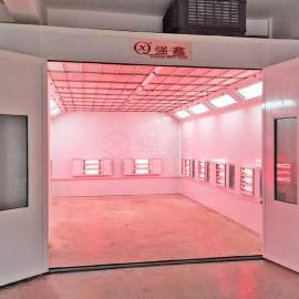 强鑫喷漆烤漆一体房环保简易喷烤房4S店钣喷修复喷漆室QX500A