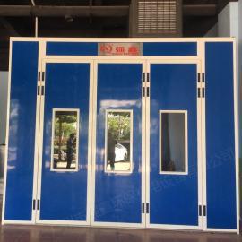 强鑫工业小型喷烤一体房小型喷漆烤漆房红外线烤房带环保喷漆室QX非标定制款