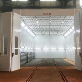 强鑫工业水帘喷漆室大型机械五金家具喷漆房QX