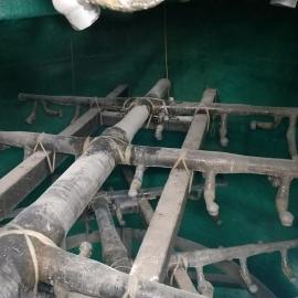 脱硫吸收塔玻璃钢喷淋层更换