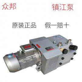 镇 江泵旋片泵 永盾真空泵 风泵 HQVACU配管接口G1边立式结构ZYBW60E