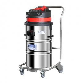 �zhi战啵�LEPUJ)手推式吸粉尘zhuang修da磨工业用da容量80L工业吸尘器LP368B
