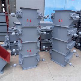新海新海单层、双层重锤式锁风翻板阀DXH