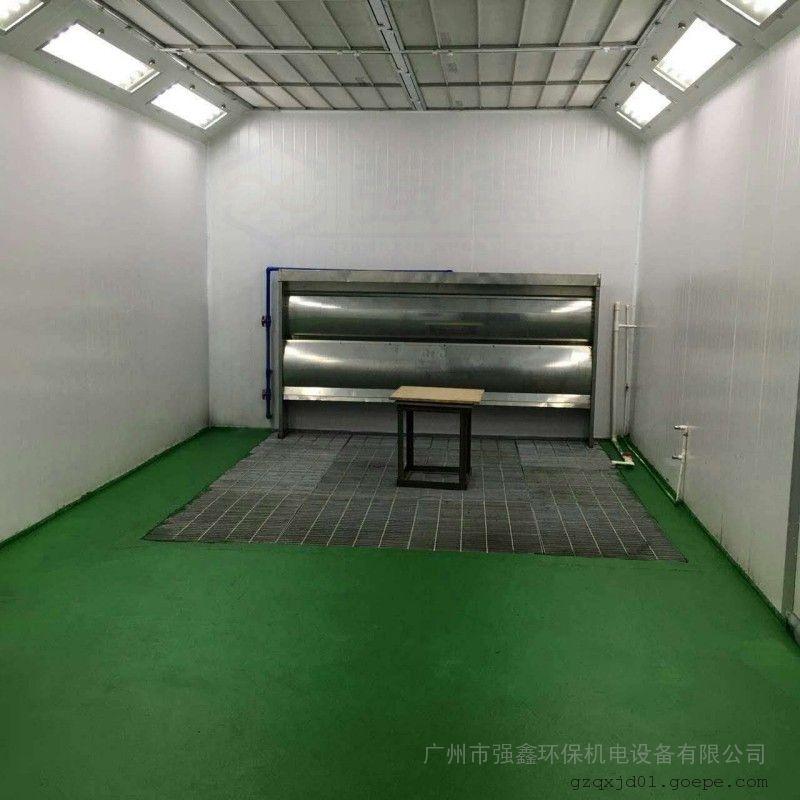 强鑫工业五金机械家具红外线烤漆房低温高温烘烤房QX非标定制款