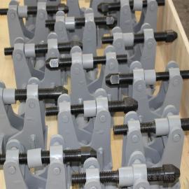 新�;繁5缃饴谅裂艏�小盒卡具 母线提升框架 螺旋卡具、夹具、阳极固定夹XHJ-S