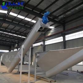 如克定做螺旋式砂水分离器 结构紧凑重量轻 安装维修方便LSSF-260