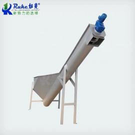 如克LSSF型螺旋式不锈钢砂水分离器无轴砂水分离设备LSSF-260