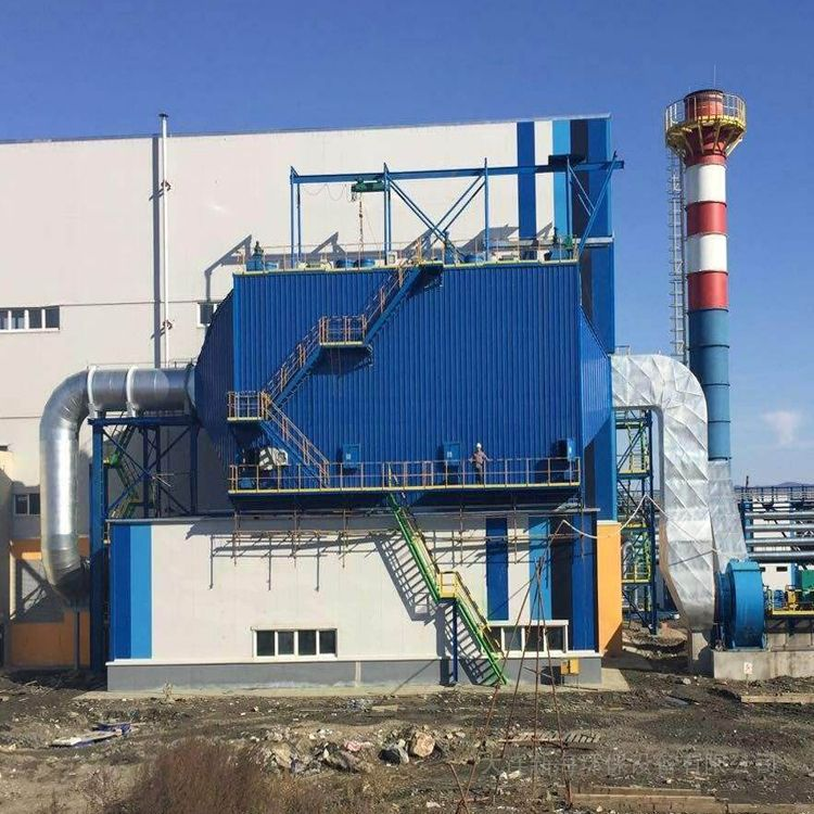 新海环保色母粒厂生产线安装布袋除尘器DXH