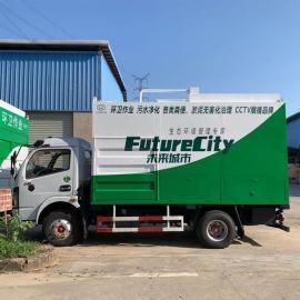 污水处理设备,垃圾车,吸粪车,车载式碟螺污泥脱水设备