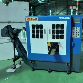 全自动带锯床 钛合金切割机威全圆锯机WS-75C