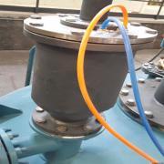 新海环保电解铝排空阀 气动阀 PKF
