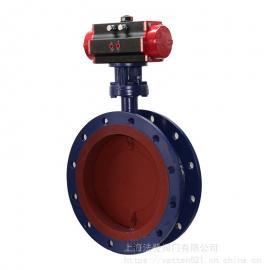VT1LHMW29I常温大口径气动通风蝶阀 法兰过气体介质阀门VATTEN