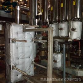管式换热器隔热保温被Nansen供应换热器柔性保温罩