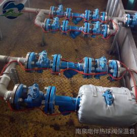 管道仪表柔性保温衣仪表可拆卸可检修可重复使用保温套