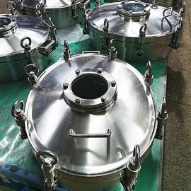 巨捷乳制品发酵罐 玻璃发酵罐人孔盖 不锈钢发酵罐外开人孔YAA