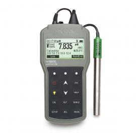 意大利哈纳防水便携式酸度pH-氧化还原ORP-离子浓度ISE-温度测定仪HI98191