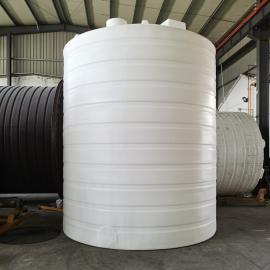 hua社20吨抗紫外线塑料储罐无渗透无缝隙塑料水桶全新ju乙烯水箱20T