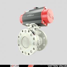 VATTEN球型气动罐底阀 工业罐底放料阀 VT2BEF43B