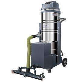 威德er(WAIDR)手推式锂电池工业吸尘器干湿liang用车间吸尘设备吸灰尘铁屑hanzha用WD-100P