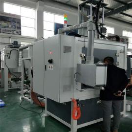 吉chuan自动喷砂机du膜伞具喷砂设备JC