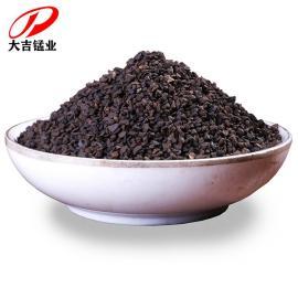 大吉天然锰砂滤料净水处理去水黄过滤除铁铁锰