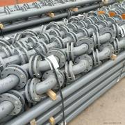 力企内衬PO复合钢管 废水处理管道DN125