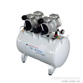 低噪音全无油空压机