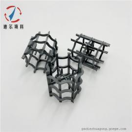 迪尔塑料CPVC耐氯八柱环八四内弧环传质填料DN25/38/50/80