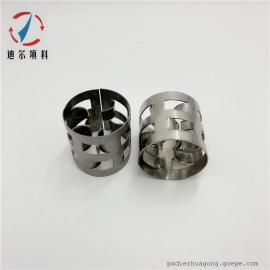 迪尔填料耐高温不锈钢304/316L金属鲍尔环填料DN16/25/38/50/76/100