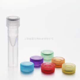 俊晟透明无酶无热源0.5ml螺口可站立底样品管 MT08005-C
