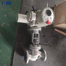 湖quan(HQ)J941H-16 DN65蒸汽管道用电动fa兰截止阀