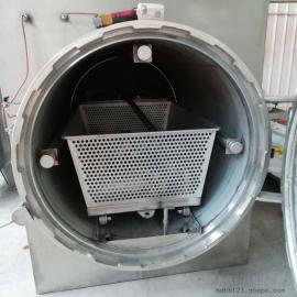 翰德动物尸体高温湿化处理 不锈钢 碳钢1吨湿化机HDXHJ-1000
