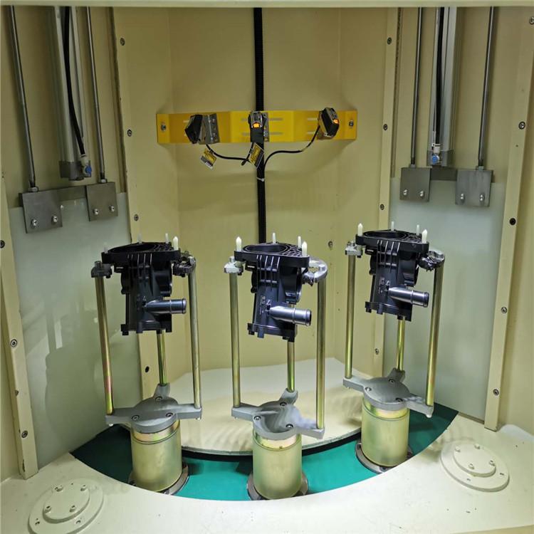 吉川 爬梯扶手脚手架翻新用自动喷砂机
